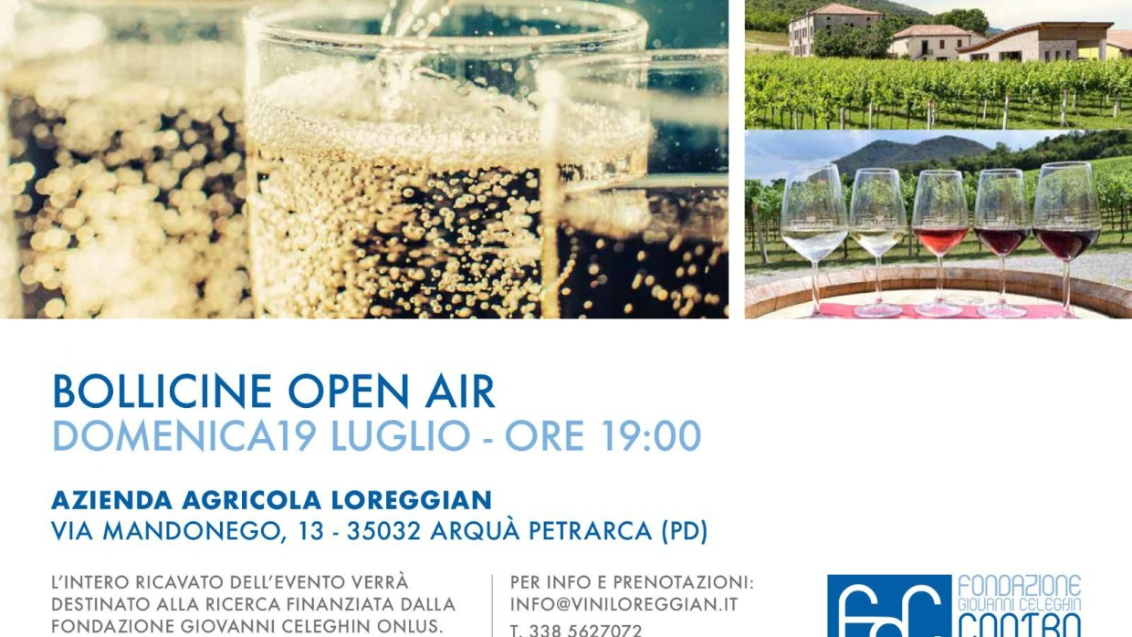Bollicine Open Air – #charityevent